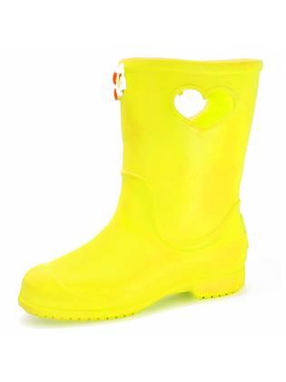 """Детские резиновые сапоги """"Short"""" желтые"""