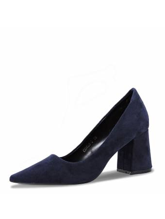 """Туфли на каблуке """"Keen"""" синие"""